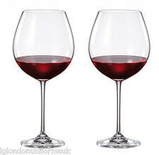 2x Giant Bohemia Crystal Premium Barrica Red Wine Glasses Cup 770ml