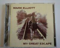 Mark Elliott CD My Great Escape Country Folk music singer songwriter