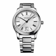 Louis Erard Heritage Men's Automatic Watch Date Silver Bracelet