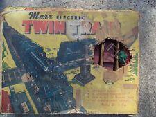 MARX Twin Engine Train Set aprox 1955