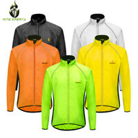 WOSAWE Reflcetive Windbreaker MTB Bike Cycling Jacket Waterproof Coat Bike Wear