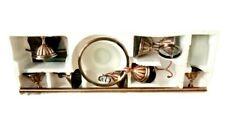 Bathroom Accessories Set Luxury Towel Ring Toilet Paper Holder Glass Shelf Soap