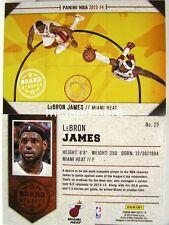 Panini NBA (adrenalyn xl) 2013/2014 - #020 LeBron James-Board members