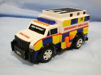 Toy State Road Rippers Plastic Toy Ambulance Emergency Vehicle UNTESTED  SOUNDS
