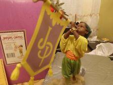"Thomas Blackshear Figurine ""Trumpatina"" Elite Edition 2004 Exclusive Nib"