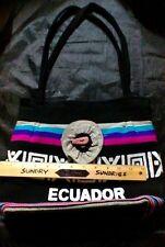 ECUADOR TOTE BAG Roomy Handbag QUITO PURSE Pocketbook QUECHUA Satchel HANDMADE