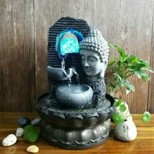 Buddha Decor Waterscape Feng Shui Ornament Indoor Home Office Decoration Gifts