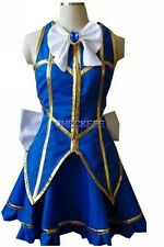 HOLRAN Fairy Tail Lucy Heartfilia Default Uniform Cosplay Costume Party Dress