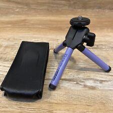"Purple Giottos Ball Pod Tripod Camera Photo Video 3.25"" Compact Unit With Case"