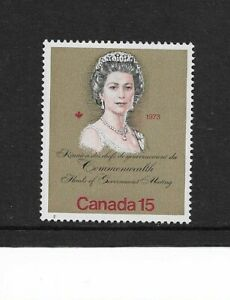1973 Canada - Royal Visit & Commonwealth Meeting - Single Stamp - Unmounted Mint