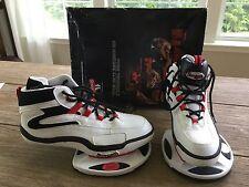 STRENGTH Training Shoes Jumping Plyometric White Black Red Men's SZ 10.5-NOS