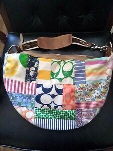 Vintage-  authentic Coach handbag Multicolor