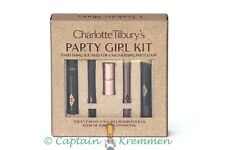 CHARLOTTE TILBURY PARTY GIRL KIT 5 PIECE SET PILLOW TALK LIPSTICK,LIP CHEAT EYE