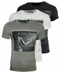 RELIGION Clothing Herren T-Shirt SEX DRUGS ROCK´N ROLL
