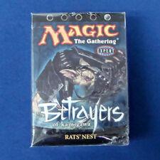 Magic The Gathering Betrayers of Kamigawa RATS' NEST Theme Deck *Damaged Box*