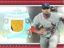 2007 Upper Deck Albert Pujols GC-95 St. Louis Cardinals Game Materials