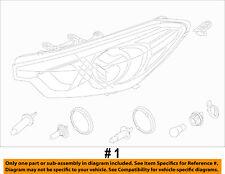 KIA OEM 14-15 Forte-Headlight 92102A7200