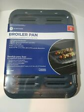 New listing Genuine Ge Appliances Two-Piece Broiler Pan Part #Wb48X10056 New Sealed Oem