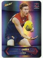 2015 AFL SELECT CHAMPIONS SP130 MATT JONES MELBOURNE SILVER PARALLEL CARD