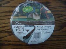25' brown Garden Edging Trim Cap  Col-Met new sealed package