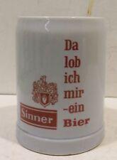 """"""" Là Lob Ich Mir Ein Sinner Bière """" Chope à 0,5L. Ceramarte Ltda. Made In Brasil"""