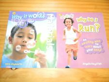 Lot of 2 QEB WHY? Books* MY BODY Why Do I Run? MATERIALS Why It Works Science