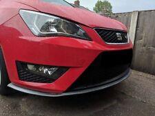 SEAT LEON Carbon Fiber Front Bumper Spoiler Lip Splitter Valance Chin Protector