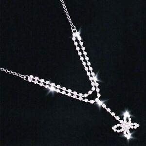 SPARKLING RHINESTONE BODY BUTTERFLY PENDANT JEWELRY DIAMOND BLING WAIST CHAIN