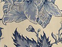 "2 pcs- Scalamandre fabrics  - PARADISE - PRINTED - V 18"" H 30"""