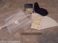 Emergency/Survival MINI Water Purification Kit, w/CASE!   EDC Small Compact Kit!