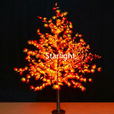 5ft Outdoor LED Maple Tree Christmas Night Light Party Home Light Red+Yellow