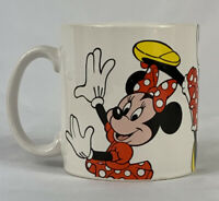 Disney Minnie Mouse Dancing Action Playing Vintage Coffee Mug Tea Cup Cocoa