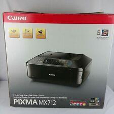 Canon Pixma MX712 Print Copy Scan Fax Direct Photo Printer - New Open Box
