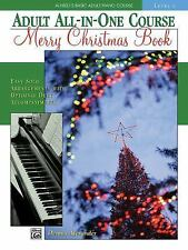 Merry Christmas Book Level 1 Alfred's Basic Adult Piano Course Solo Sheet Music