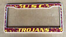 USC Trojans Plastic license plate frame NEW