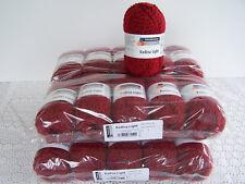 1000g (19,95€/kg) Schachenmayr Wollpaket Kadina Light Fb32 rubin - weiche Wolle