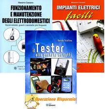 ELETTRICISTA RIPARATORE MANUTENZIONE DI ELETTRODOMESTICI E  IMPIANTI ELETTRICI