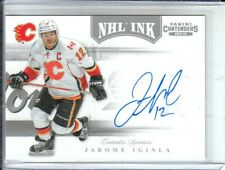 2011-12 Panini Contenders NHL Ink #6 Jarome Iginla Auto SP