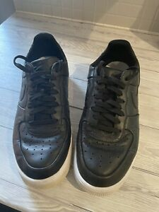 Nike Air Force 1 Size 10 Black Leather