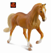 TENNESSEE WALKING HORSE PALOMINO STALLION Toy Horse Model - CollectA 88449 *New*