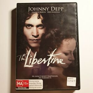 The Libertine | DVD Movie | Johnny Depp, John Malkovich | 2004 | Romance/Drama