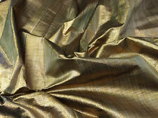 "Antique Gold Lame Lurex Fabric Dress Making Lining Crafts - By Meter 45"" Wide"
