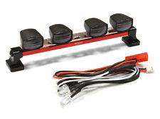 Integy 1/10 V2 Crawler Realistic White LED Roof Light Bar SCX10 #C25261 OZRC