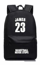 Lebron James 23 Basketball School Backpack Book Computer Bag Student Fashion Fan