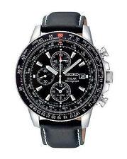 Armbanduhren mit Armband aus echtem Leder und 100 m Wasserbeständigkeit (10 ATM)