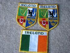 New listing Three Ireland Irish Cloth Patches Provinces Flags Free Shipping