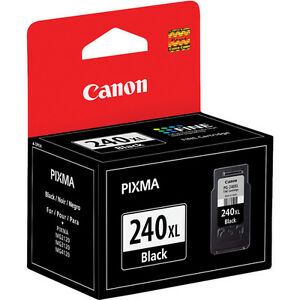 Genuine Canon PG240 XL high capacity black ink PG 240 MG 2120 2220 3120 3122