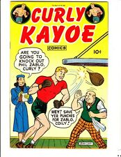 Curly Kayoe 2: (1946): FREE to combine- in Very Good/Fine condition