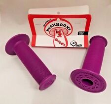 OLD SCHOOL BMX ODI MUSHROOM GRIPS PURPLE