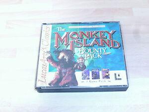 Monkey Island Bounty Pack  USED ......&.... tintin & captain morgane  NEW&SEALED